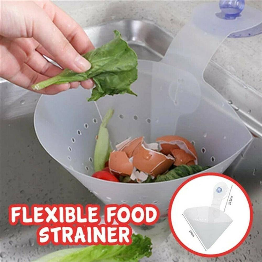 【READY STOCK】Kitchen Sink Strainer Kitchen Filter Foldable Anti-Clogging Filter Multipurpose Foldable Kitchen Filter