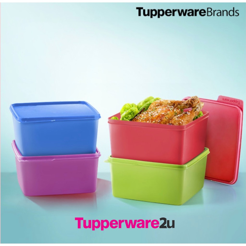 (New)(Ready stock) Tupperware Snack & Stack (4 pcs) 2.5L (Special Festive Offer)(June 2021 promo)