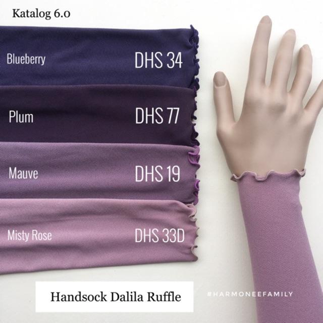 Handsock dalila single ruffle FREE POUCH BAG ❤️