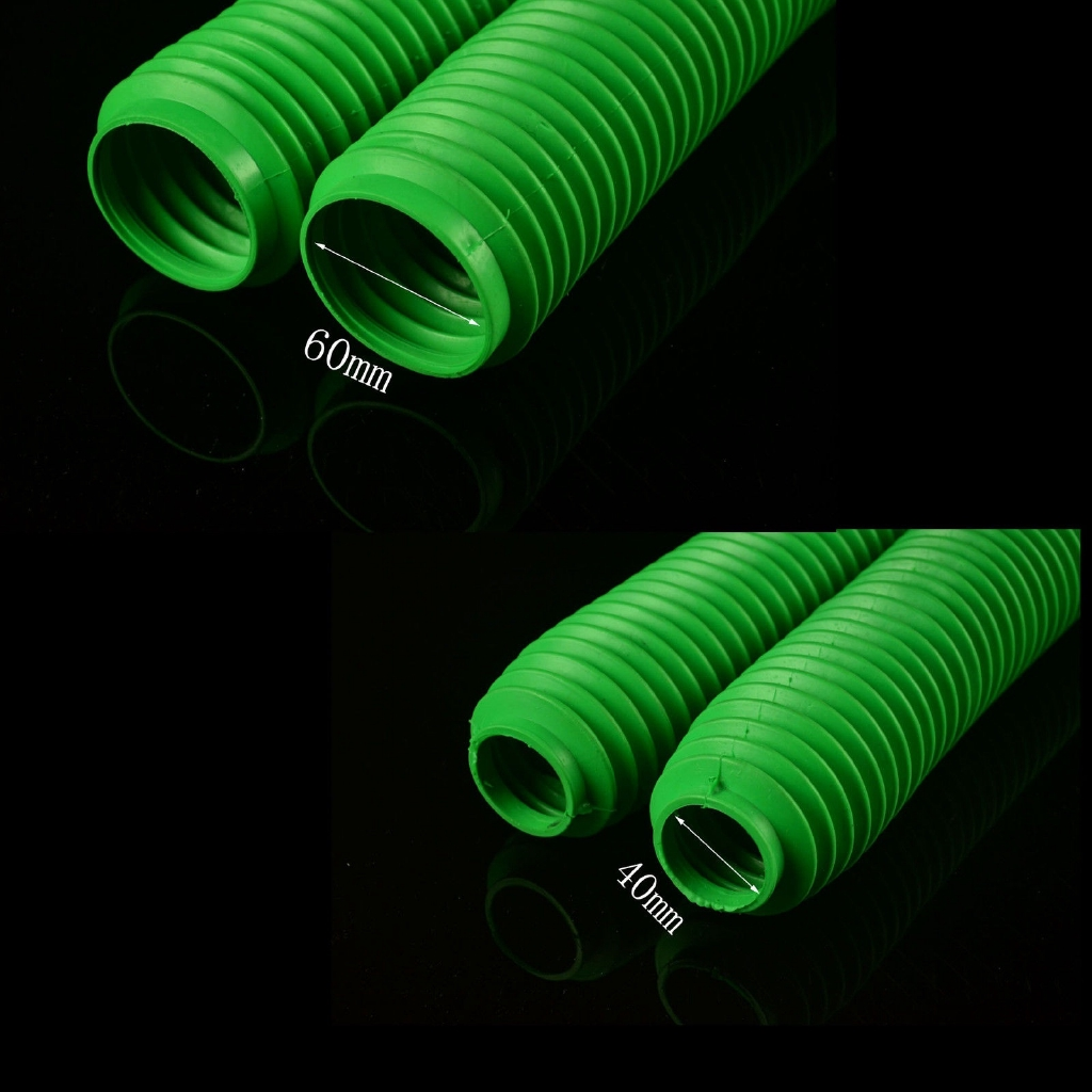 2 New Motorcycle Fork Gaiters 42x60x250mm