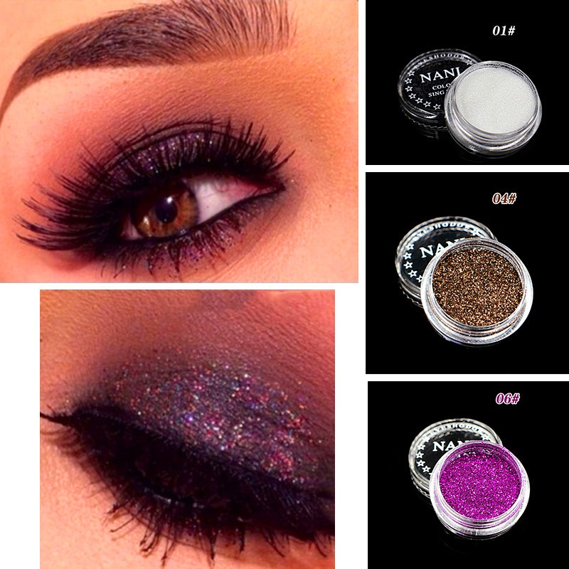 NANI Pro Makeup Loose Powder Glitter Eyeshadow Eye Shadow Make Up Pigment
