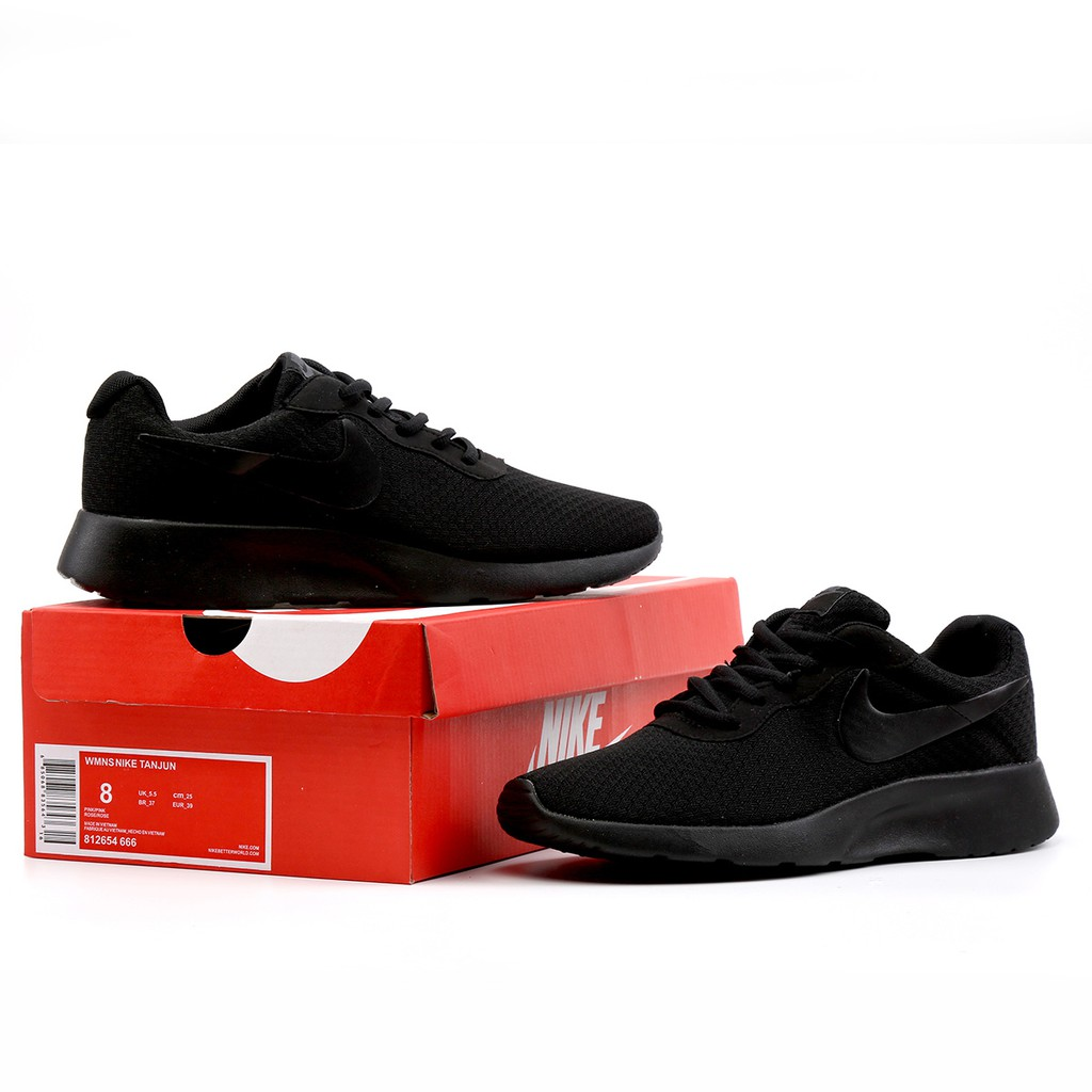 enlace Actual águila  NIKE ROSHE ONE All Black Women's And Men's Casual Sport Shoes   Shopee  Malaysia