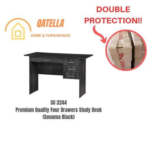 DIY 书桌/学习桌/读书桌/Premium Wooden Writing Study Table/Study Desk/Workstation/Meja Belajar (SU 3244)