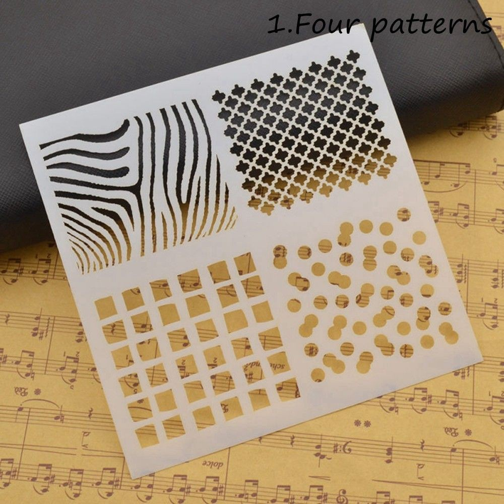 EG/_ 2 Pcs Letter Cutting Dies Stencil Scrapbook Album Paper Card Embossing Dulce