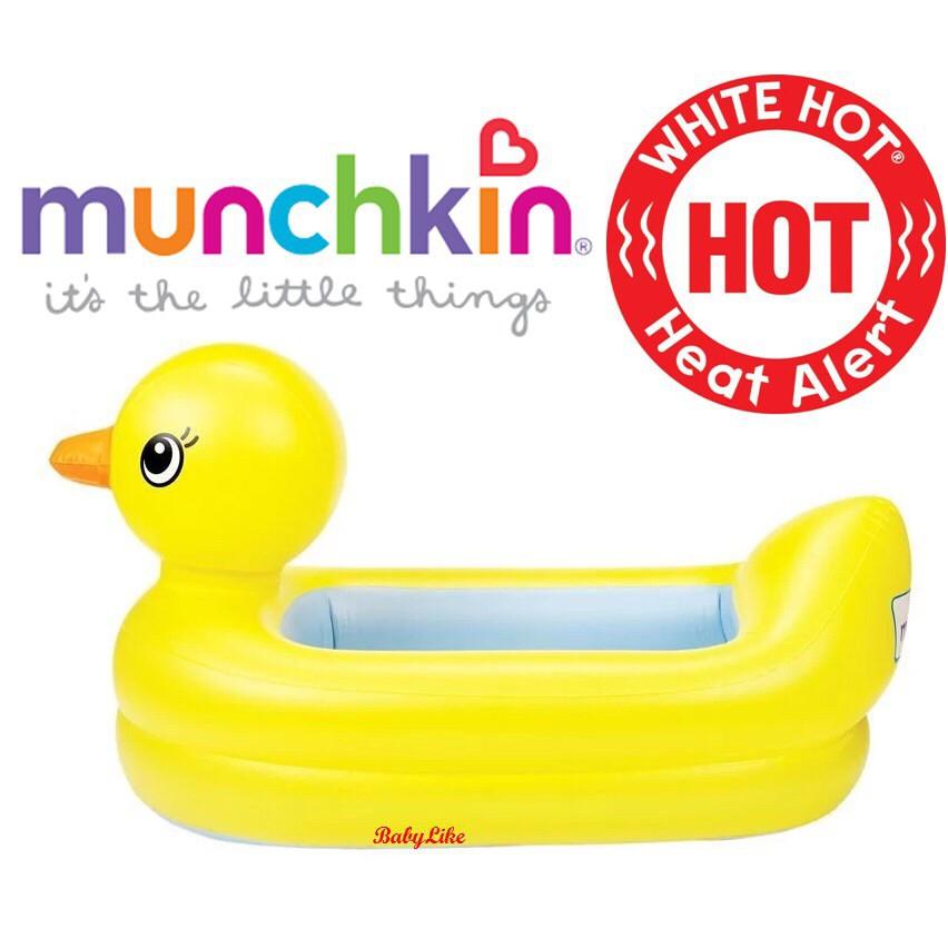 munchkin safety bath ducky malaysia munchkin inflatable safety duck tub shopee malaysia