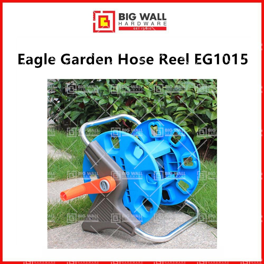 Eagle Garden Hose Reel EG1015 15m Capacity Hose Reel Gardening Tool Big Wall Hardware