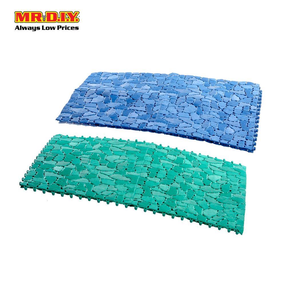 New Plastic PVC Non-Slip Mat Shower Bathroom Bubble Mat Bath Home Floor