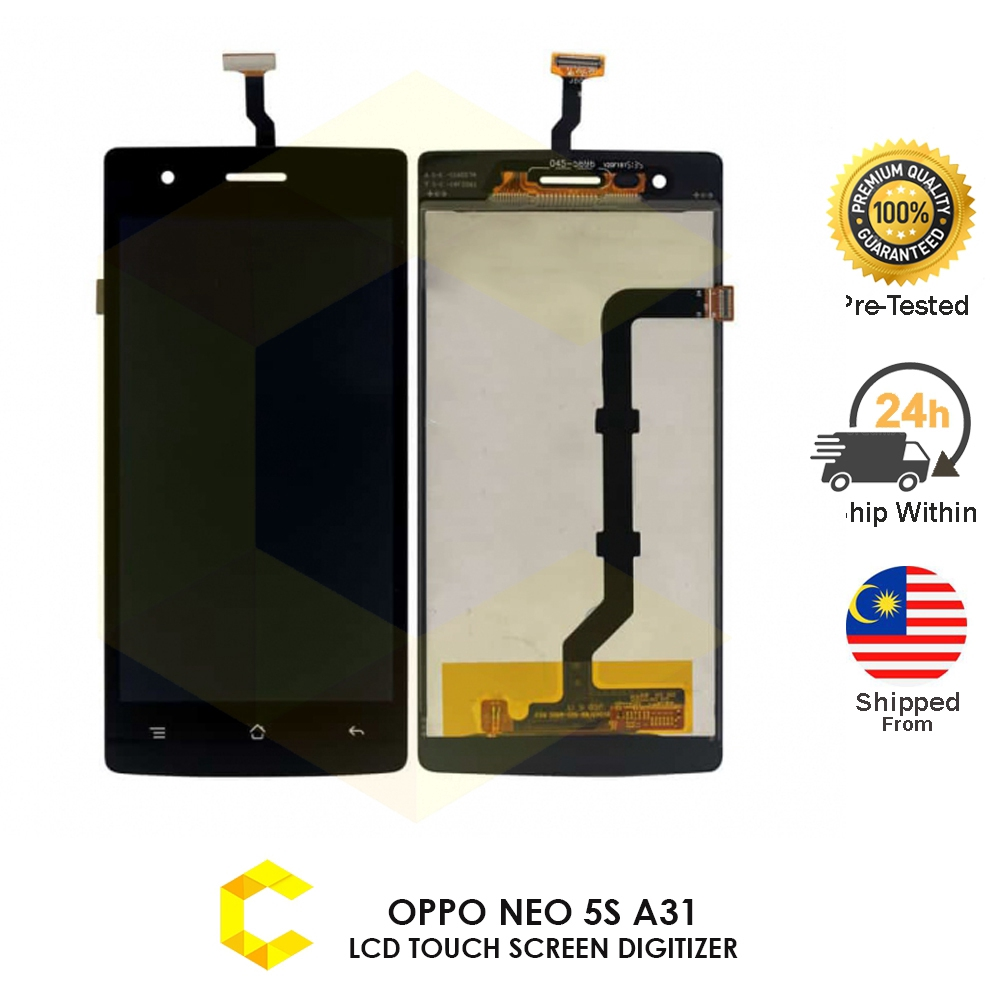 Oppo Neo 5S A31 LCD Touch Screen Replacement Parts