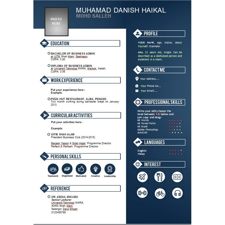 Resume 2020 Malaysia