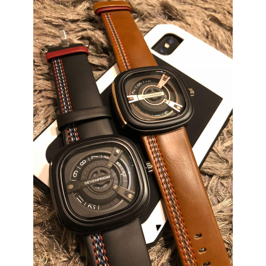 Limited Edition Seven Friday M Series Fossil Fs5182 Set Pilot Dual Time Analog Digital Fs5174 Include With Tin Box Shopee Malaysia