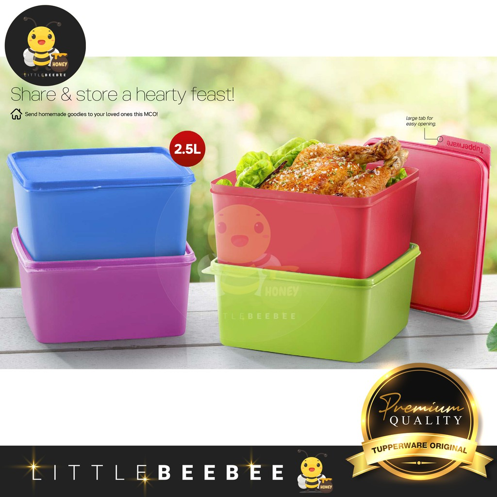Tupperware Snack & Stack (2.5L) 1pc only