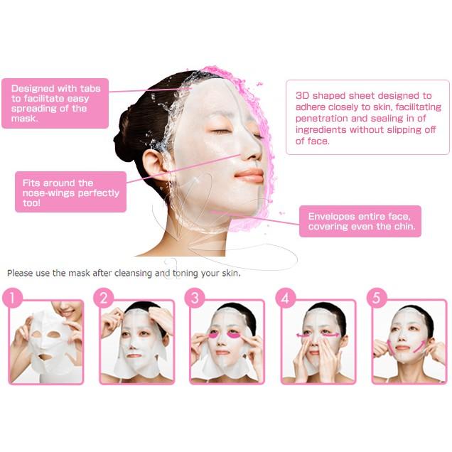 Kracie Hadabisei Premium Rich Conditioning Mask - Moist (4's)