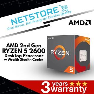 AMD Ryzen 5 1400/1500X/1600/1600X/2400G/2600/2600X Processor