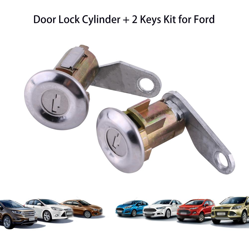 Door Lock Cylinder /& Keys Set of 2 for Ford Mercury Mazda Truck SUV