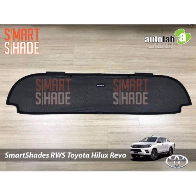 SmartShade Rear Windscreen Shade Toyota Hilu Revo