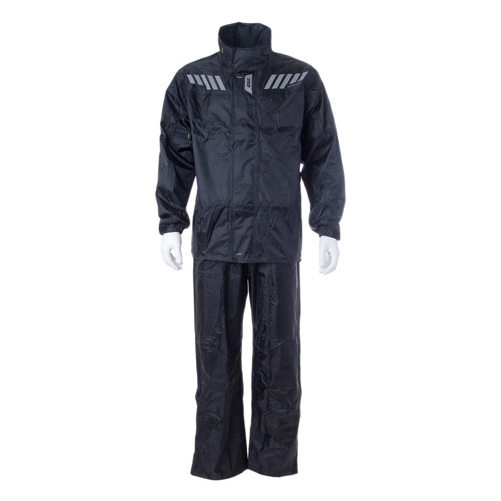 Raincoat GIVI RRS04 Ridertech Baju Hujan (Black-Solid)
