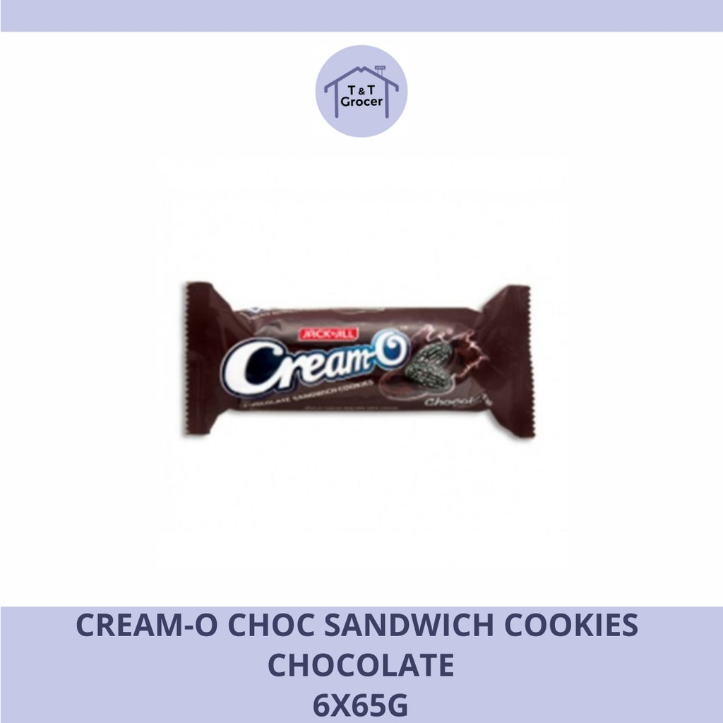 Cream-O Choc Sandwich Cookies (Chocolate/ Vanilla)