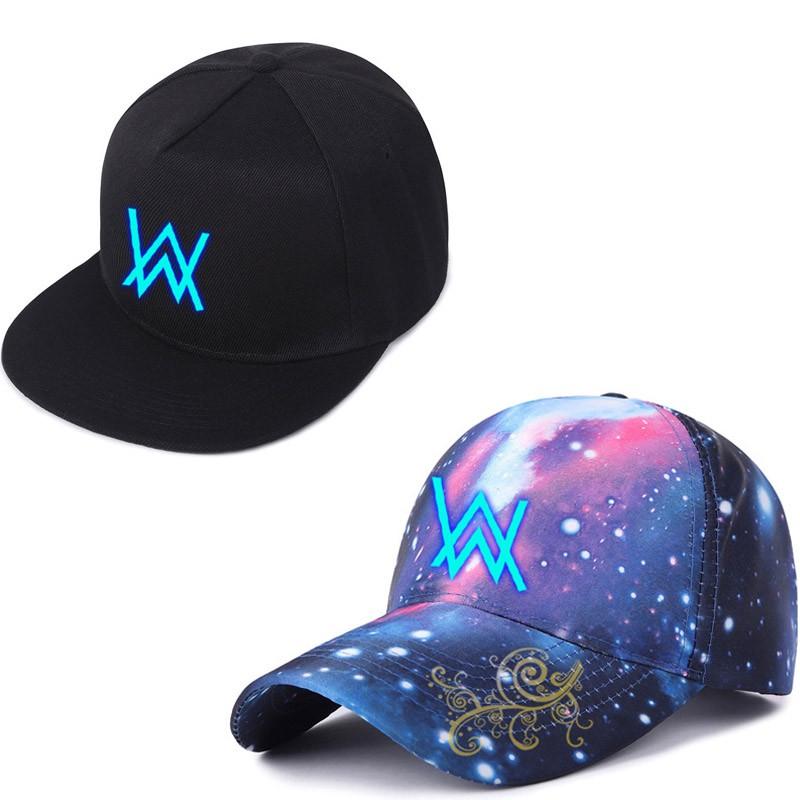 dda41c183 Alan Walker Faded Kids Hats Adjustable Glow In The Dark Cartoon Baseball  Caps