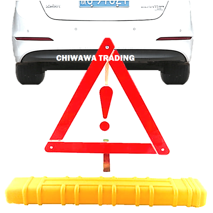 Car Warning Safety Road Sign Emergency Reflective Triangle Kit Exclamation Mark