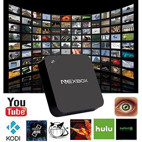 NEXBOX N9 Android 4.4 TV Box 1GB/8GB 4K Wifi Kodi HDMI
