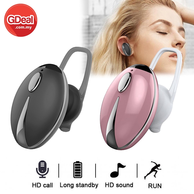 GDeal JKC-001 Bluetooth Mini Wireless Headphone Single Ear V4.1 Sports In Ear Mini Headset For Mobile Phone IOS Android