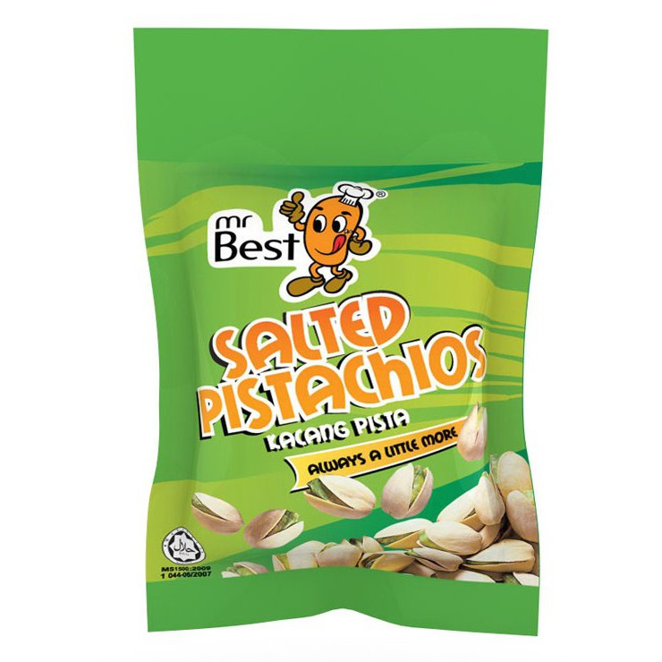 Mr Best Salted Pistachios 90g