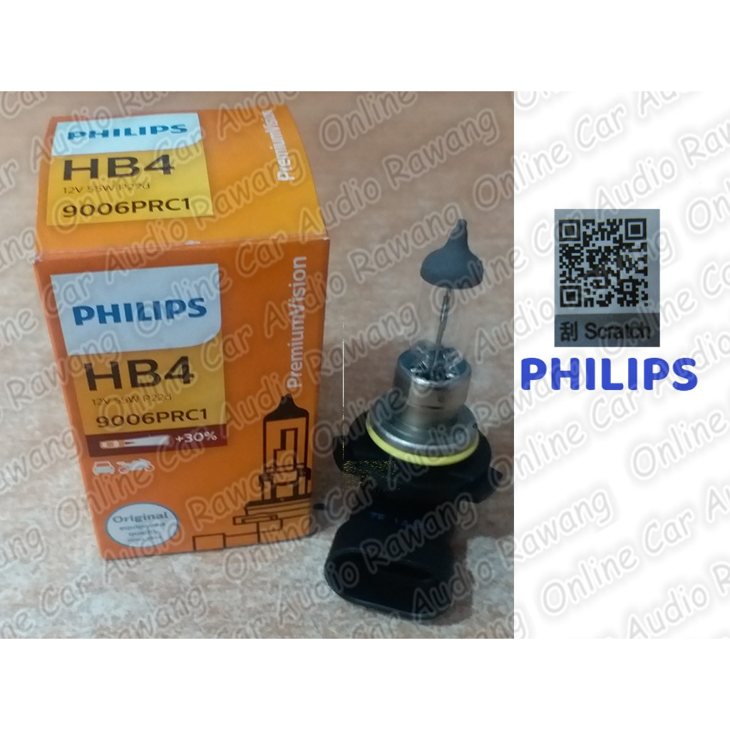【BLN】9006 Hb4 Super Bright 5000K Xenon White Fog Halogen Bulb High Power 55W | Shopee Malaysia