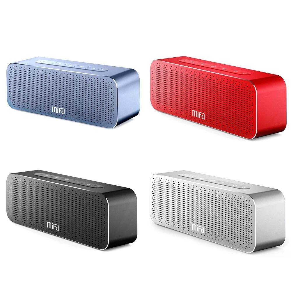 Mifa M520 Mobile Wireless Stereo Karaoke Speaker With Mini Microphone Shopee Malaysia