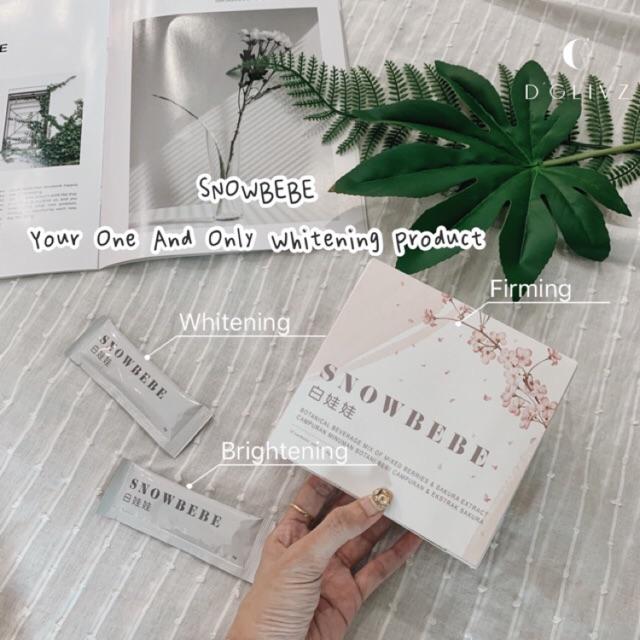 Snowbebe🍑💯Authentic Whitening Supplement