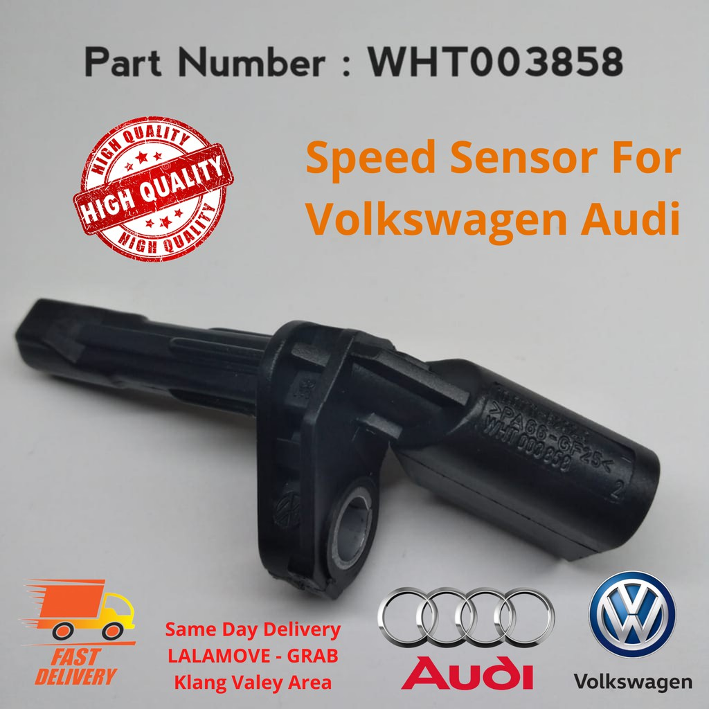 Set ABS Speed Sensor Rear Left /& Right for Audi A3 Q3 TT 2.0 WHT003858 WHT003859