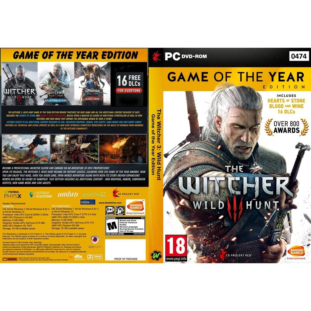 (PC) The Witcher 3 Wild Hunt GOTY Edition
