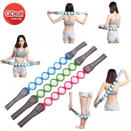 GDeal Body Massage Waist Back Puller Roller Massage With Cervical Massager Rope