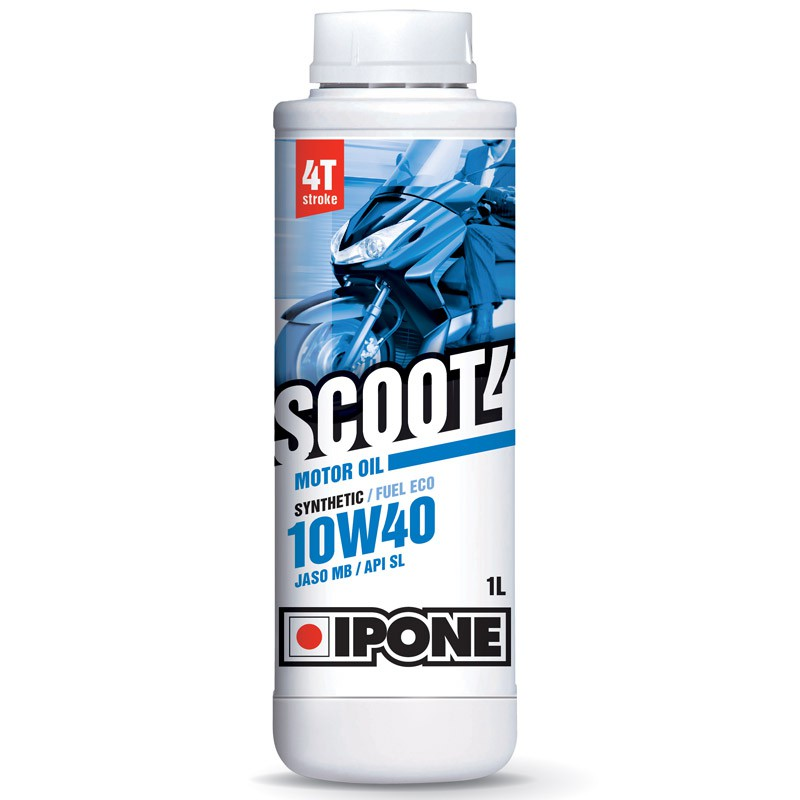 IPONE SCOOT4 10W40 4T Semi Synthetic 1 Liter Automatic Scooter Engine Oil