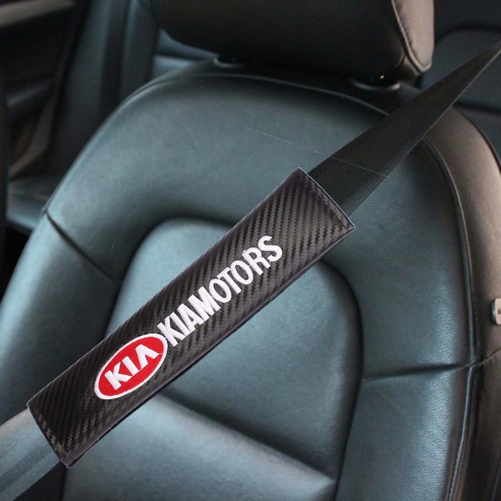 2 pcs KIA Seat Belt Cover Shoulder Pad Cushion by Kia