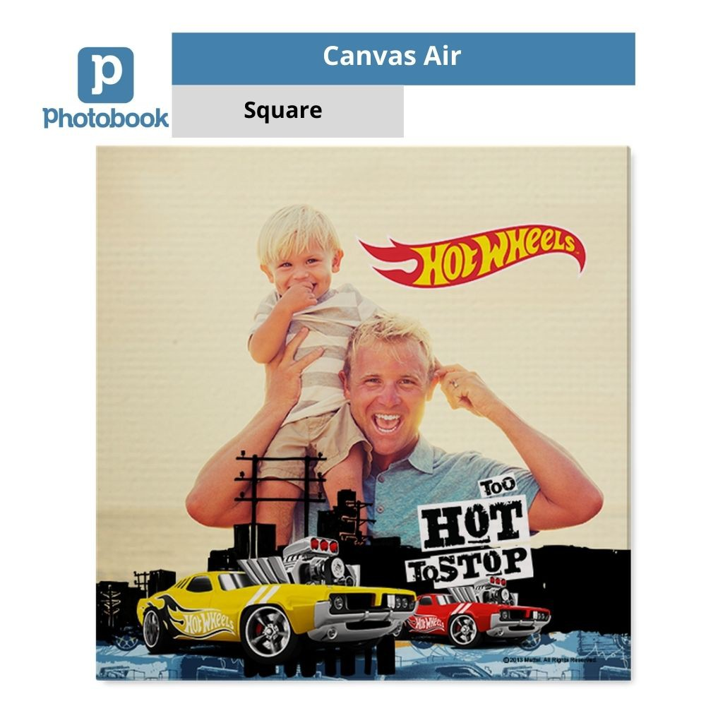 "Photobook Malaysia Square Canvas Air (8"" x 8"")"