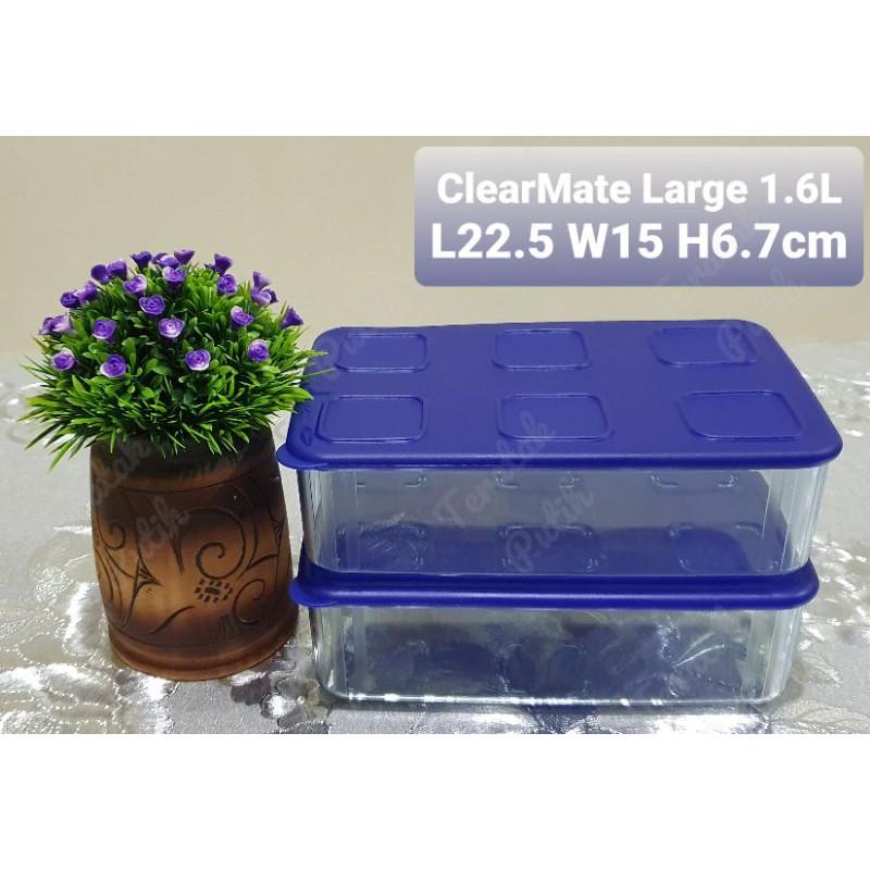READY STOCK - TUPPERWARE - FRESH N' CLEAR - CLEARMATE LARGE II 1.6L - 1 unit