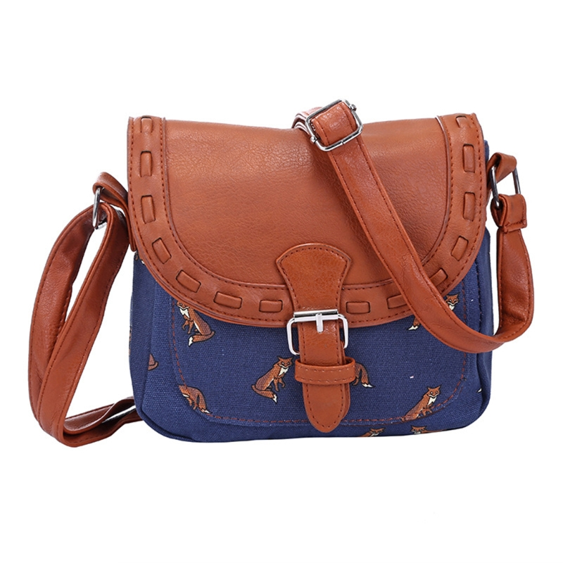 b80d6ca56485 Women Vintage Canvas Handbag Lady Shoulder Bags Messenger Crossbody Hobo Bag