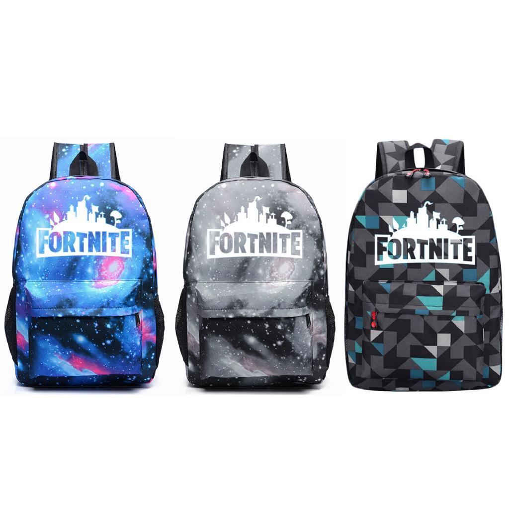 5b835a162a6a Luminous School Backpack Travel Laptop Bag for Fortnite Battle ...