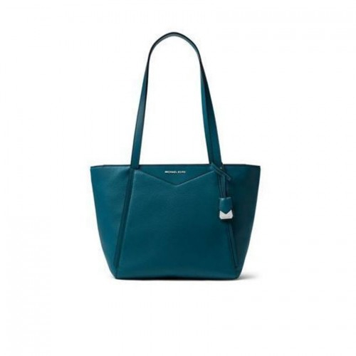 ccebee9b7672 NEW Michael Kors Women's Whitney Top Zip Tote - Small Luxe Teal  -30S8SN1T1L-402 | Shopee Malaysia
