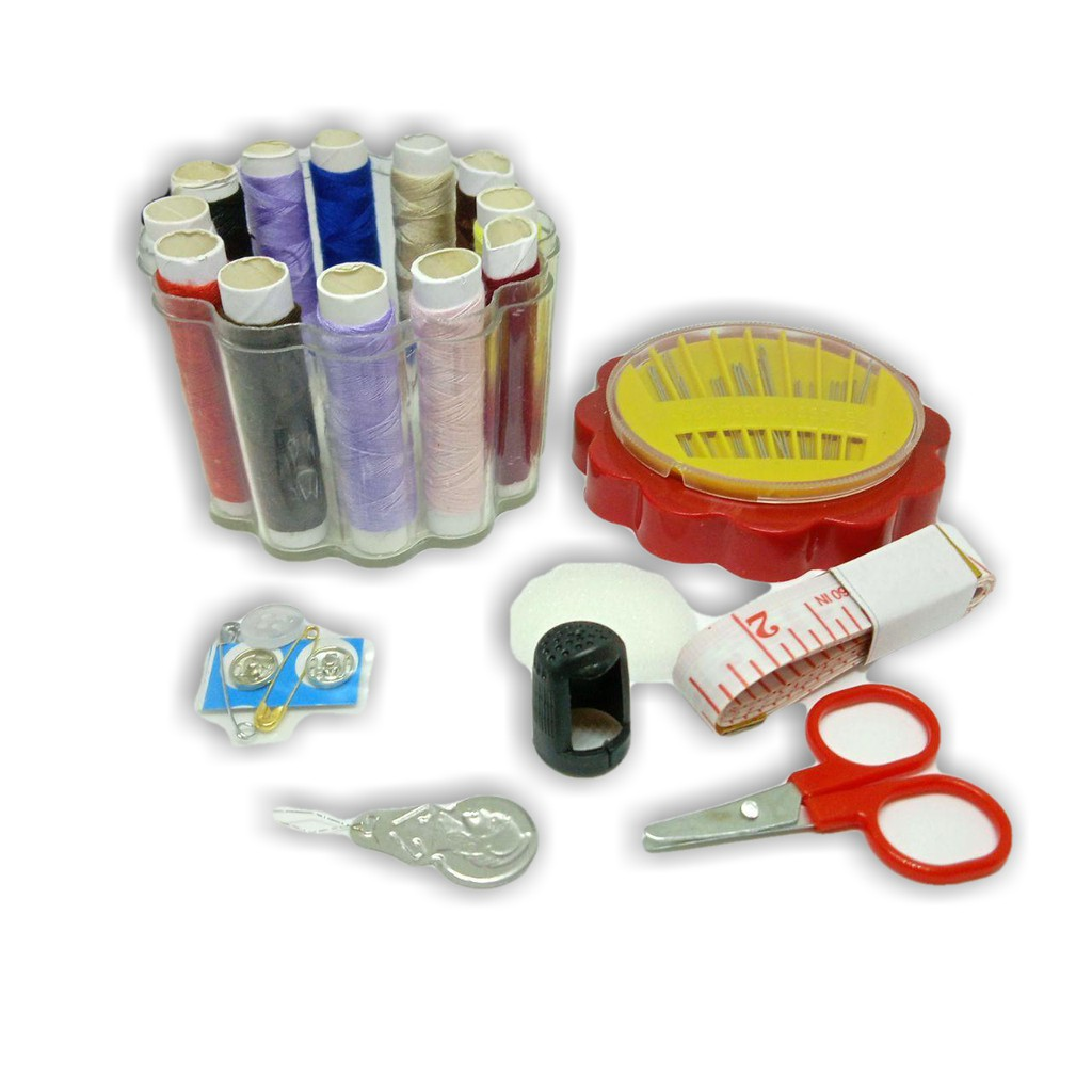 Sewing Kit Mini Emergency Repair Travel Set Jahit Kecemasan