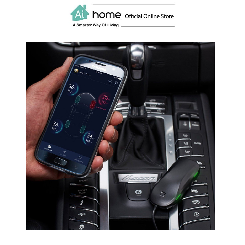 NONDA ZUS Smart Tire Safety Monitor with 1 Year Malaysia Warranty [ Ai Home ]