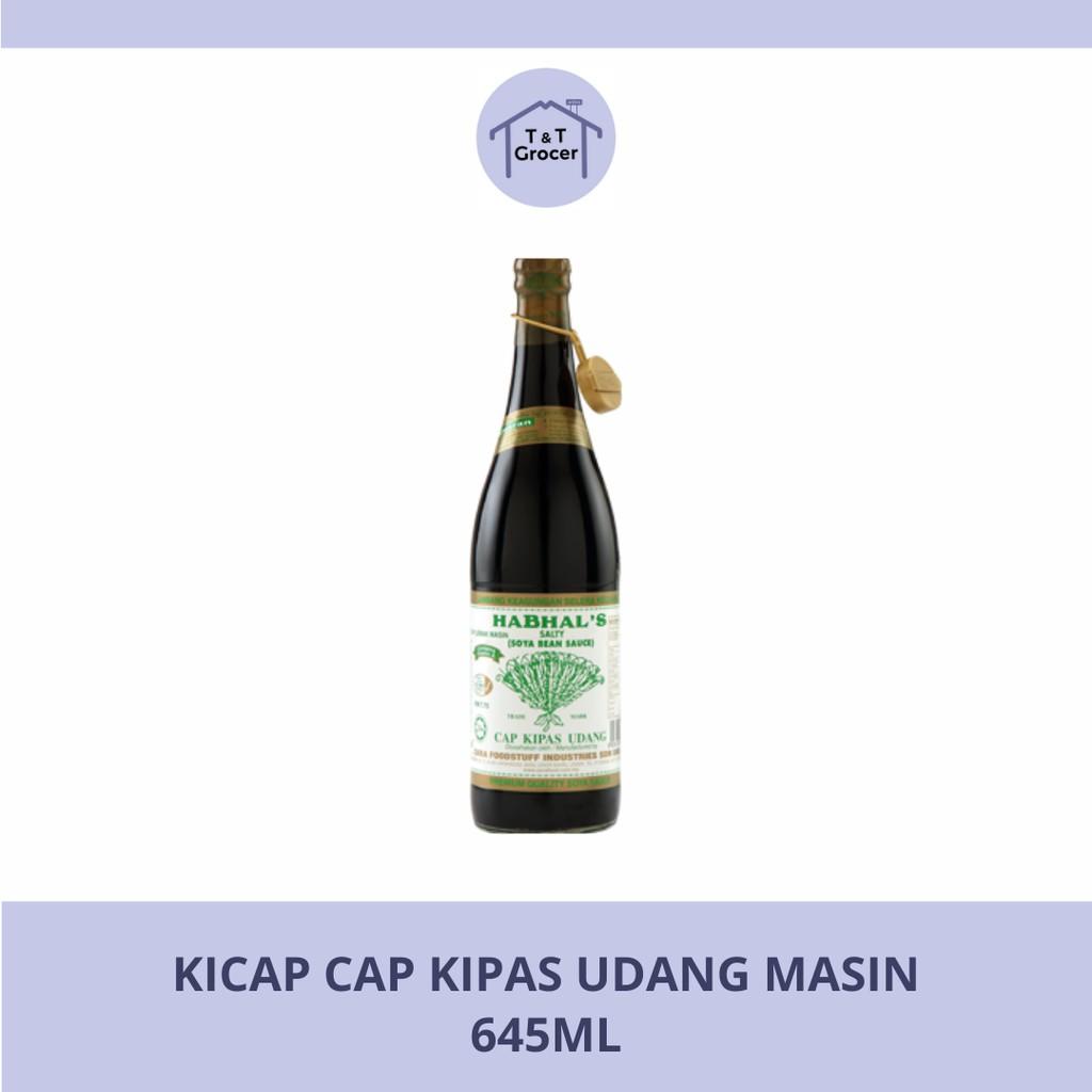 Kicap Cap Kipas Udang Masin (645ml)