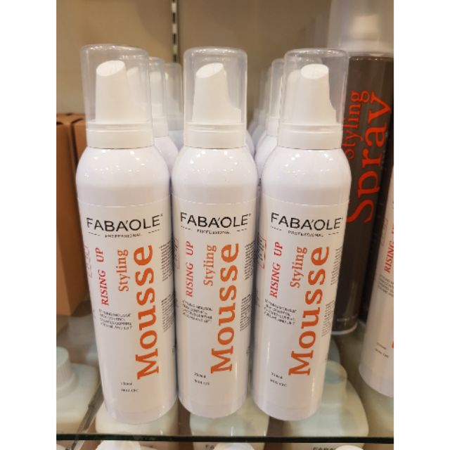 Fabaole Styling Mousse 定型泡沫 (100ml)