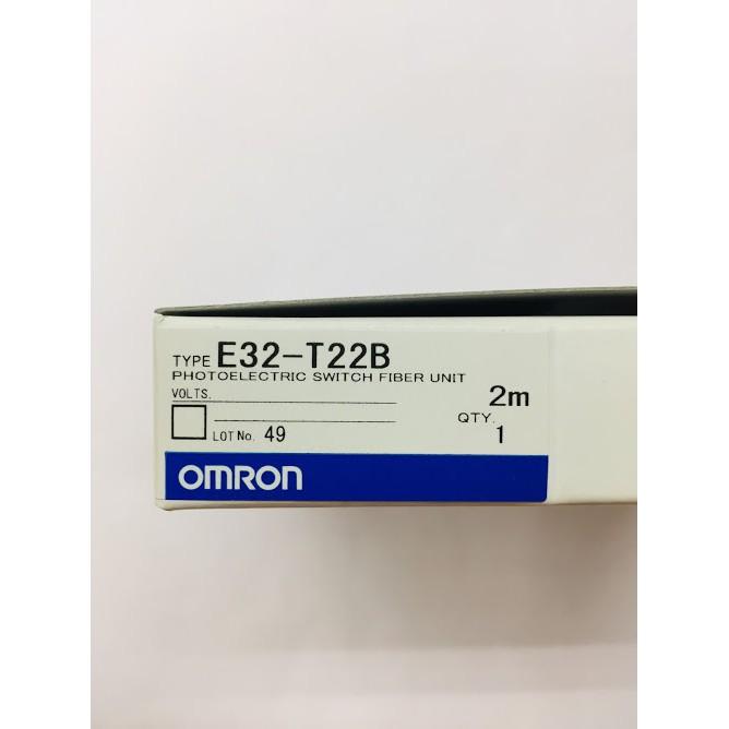 OMRON FIBER SENSOR E32-T22B 2M | Shopee Malaysia