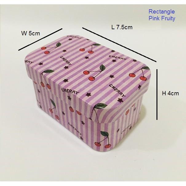 Souvenir Gift - Round Metal Gift Box
