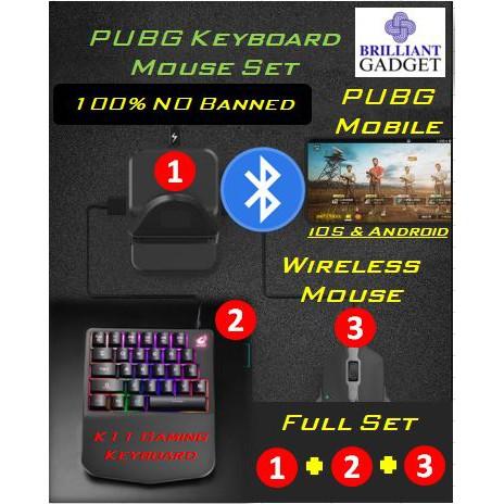 PUBG game Keyboard+Mouse+Convertor(Set)