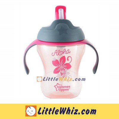 Tommee Tippee: Training Straw Cup 230ml - Aloha Floral