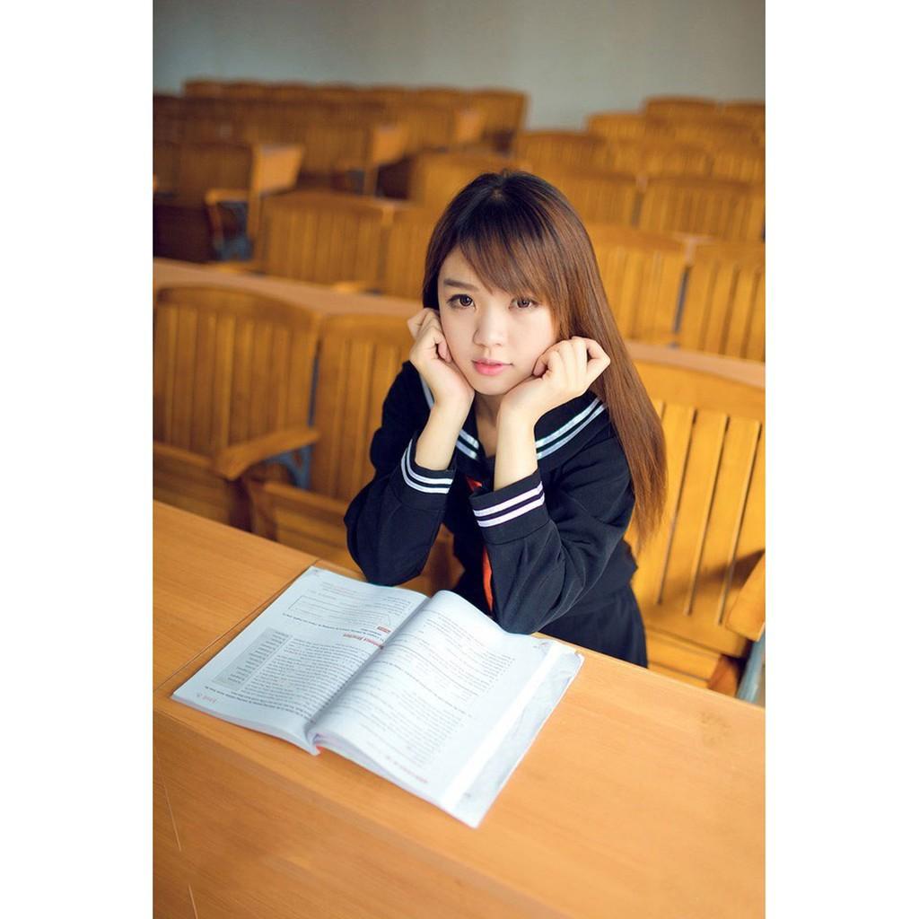 Hell Girl Enma Ai Japan JK Sailor Suit School Uniform Cosplay Costume Full Set