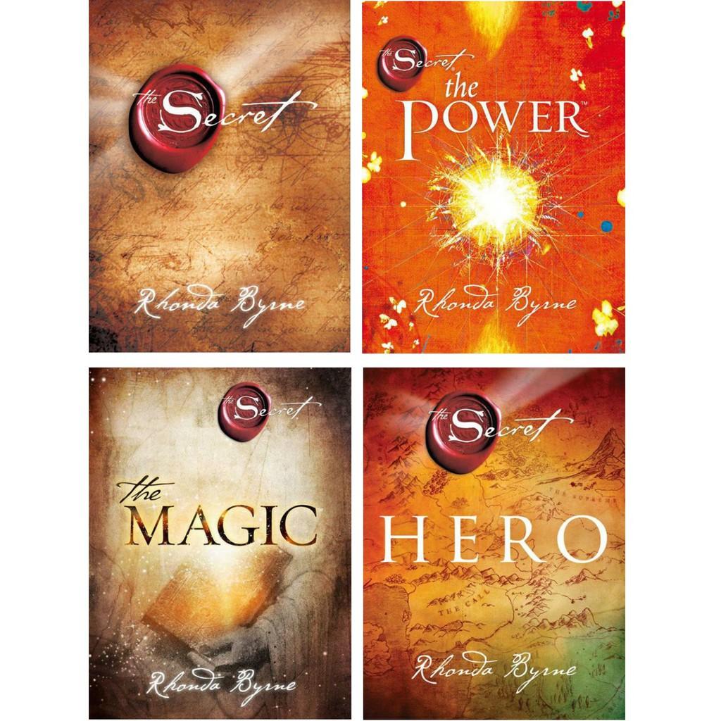 Ebook The Secret Series 4 Ebooks Bundle Set By Rhonda Byrne The Secret The Power The Magic Hero