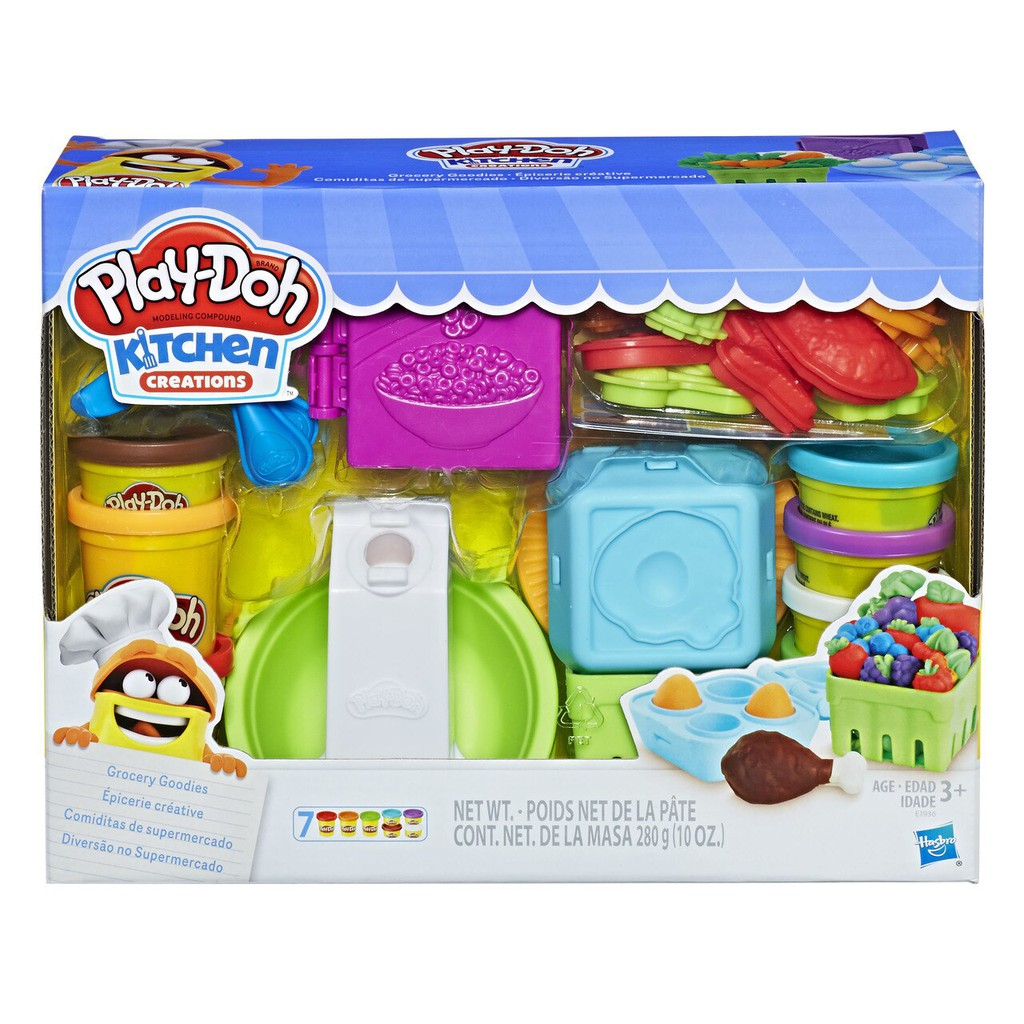 Hasbro Play-Doh Kitchen Creations Grocery Goodies Playset